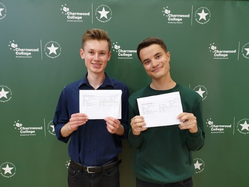 Students at Charnwood College scoop top marks in A Levels